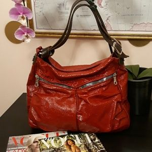 Tylie Malibu Red Leather Bag